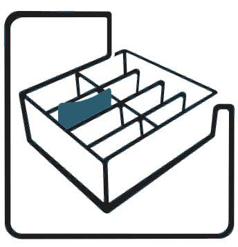 Transportbehälter für Automobilbau.