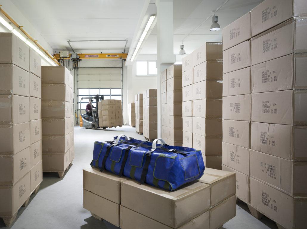 Transporttasche zum Schutz für industrielle Fertigung